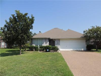 Brazos County Single Family Home For Sale: 3718 Chantal Circle