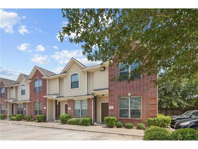 College Station Condo/Townhouse For Sale: 1000 Spring Loop #1306