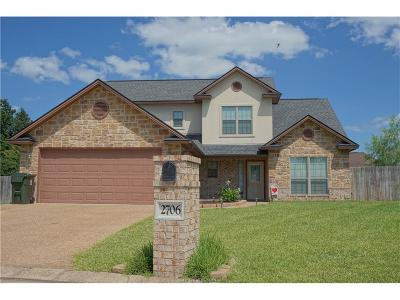 Bryan Single Family Home For Sale: 2706 Colony Creek Drive