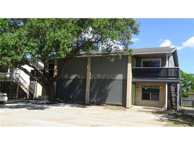 Brazos County Multi Family Home For Sale: 812 Navarro Drive #A-D