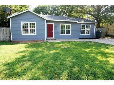 Bryan Single Family Home For Sale: 1705 East 27th Street