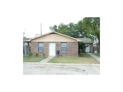 Brazos County Multi Family Home For Sale: 2807 Sprucewood Street