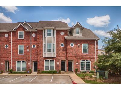 College Station Condo/Townhouse For Sale: 305 Holleman Drive #1704