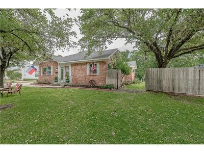 Bryan , College Station  Single Family Home For Sale: 1703 Woodland Drive