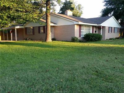 Brazos County Single Family Home For Sale: 1111 Esther Boulevard