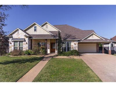 College Station Single Family Home For Sale: 5201 Cascades Drive