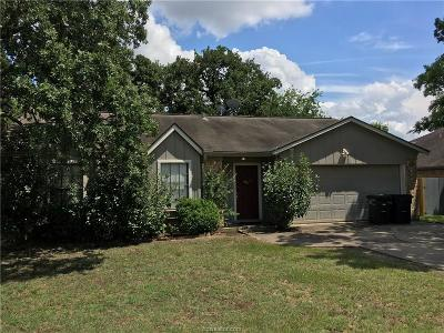 Brazos County Single Family Home For Sale: 1306 Hardwood Lane
