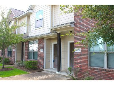 College Station Condo/Townhouse For Sale: 1000 Spring Loop #2102