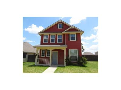 Brazos County Single Family Home For Sale: 2012 Turning Leaf Drive