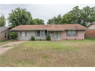 Bryan Single Family Home For Sale: 1714 Dillon Avenue