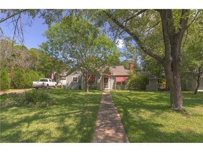 Bryan , College Station  Single Family Home For Sale: 202 Gilchrist