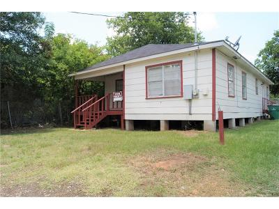 Madisonville Single Family Home For Sale: 912 West Trinity Street