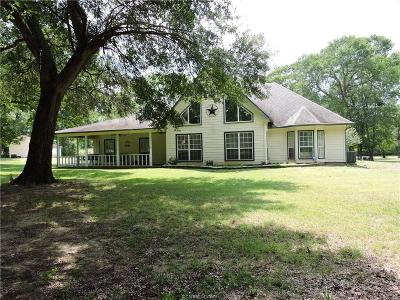 Leon County Single Family Home For Sale: 17406 Cr 4821