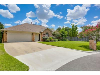 College Station TX Single Family Home For Sale: $226,000