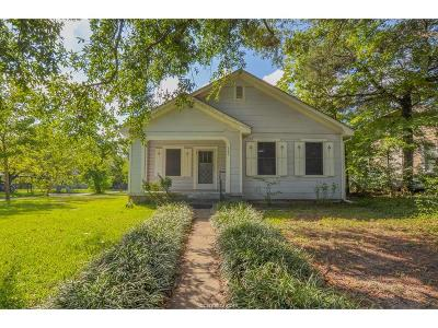 Bryan , College Station Single Family Home For Sale: 301 South Haswell Drive