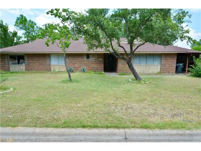 Bryan , College Station  Single Family Home For Sale: 1505 Laura Lane