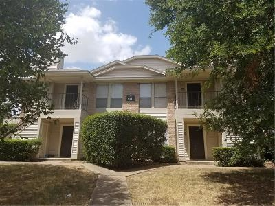 Brazos County Multi Family Home For Sale: 401 Fall Circle #A-D
