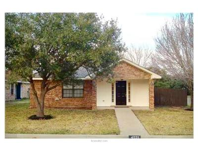 College Station Rental For Rent: 4021 Tiffany
