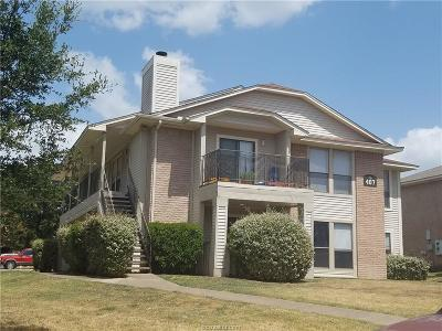 Brazos County Multi Family Home For Sale: 407 Fall #A-D