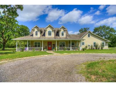 Grimes County Single Family Home For Sale: 4119 County Road 186