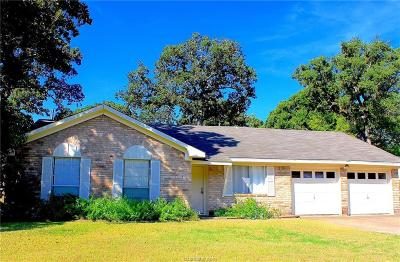 Brazos County Single Family Home For Sale: 1108 Berkeley Street