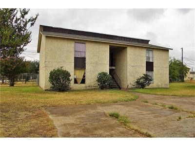 Brazos County Multi Family Home For Sale: 2801 Cypress Bend