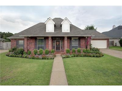 College Station Single Family Home For Sale: 4604 Caddie Court