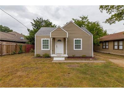Bryan Single Family Home For Sale: 1006 East 25th Street