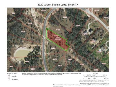 bryan Residential Lots & Land For Sale: 8922 Green Branch Loop