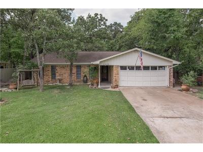 College Station Single Family Home For Sale: 7706 Sherman Court