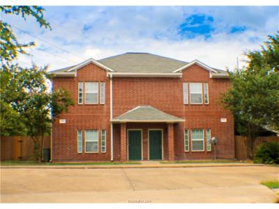 Brazos County Multi Family Home For Sale: 1500 Maglothin Court