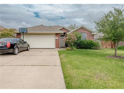 College Station Single Family Home For Sale: 3724 Marielene