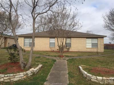 Bryan , College Station Multi Family Home For Sale: 703 Wellesley