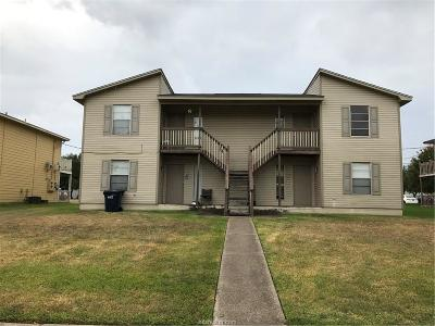 Brazos County Multi Family Home For Sale: 714 Wellesley Court