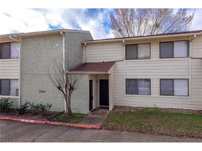 Bryan Condo/Townhouse For Sale: 4509 Carter Creek #6