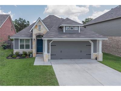 Bryan Single Family Home For Sale: 3014 Positano