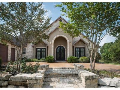 Bryan TX Single Family Home For Sale: $815,000