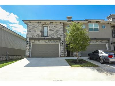 Bryan  , College Station Condo/Townhouse For Sale: 309 Sageway Court