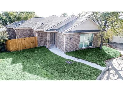 College Station Single Family Home For Sale: 1816 Brothers Blv #9