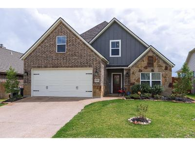 College Station Single Family Home For Sale: 2519 Kimbolton Drive