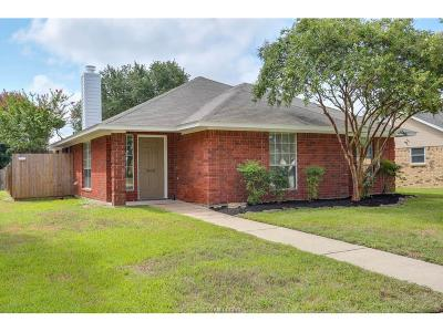 College Station Single Family Home For Sale: 804 Kalanchoe Court