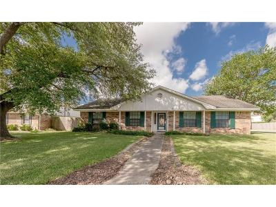 Bryan TX Single Family Home For Sale: $195,000
