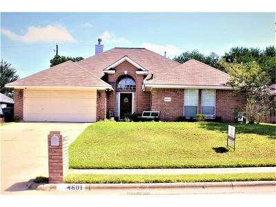 Bryan TX Single Family Home For Sale: $239,900