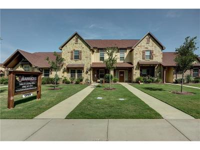 College Station Condo/Townhouse For Sale: 2916 Old Ironsides Drive