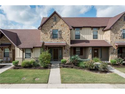 College Station Condo/Townhouse For Sale: 3311 General