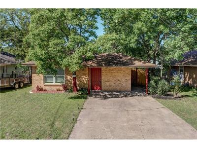 College Station Single Family Home For Sale: 1104 Georgia Street