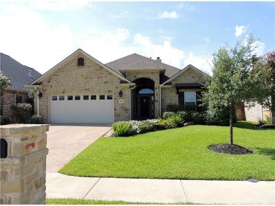 College Station Single Family Home For Sale: 4288 Hollow Stone Drive