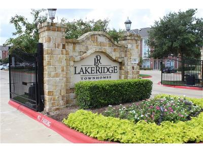 College Station Condo/Townhouse For Sale: 1198 Jones Butler Road #2104