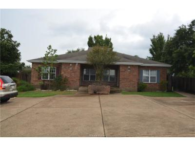 Bryan , College Station Multi Family Home For Sale: 2400-02 Brittain Court