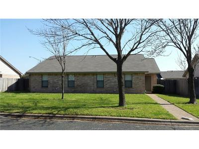 College Station Rental For Rent: 2505 Hickory Drive